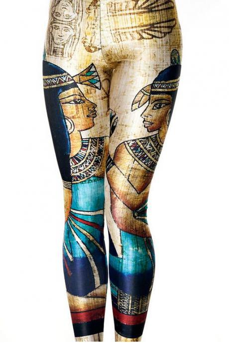 Printed Leggings Pants Sexy Slim Long Pencil Trousers/ Fashion Tights/Yoga Pants