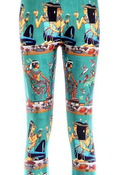 Printed Leggings Pants Sexy Slim Long Pencil Trousers/Fashion Tights/Yoga pant Lgs3533