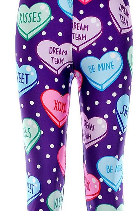 Printed Leggings Pants Sexy Slim Long Pencil Trousers/Fashion Tights/Yoga pant Lgs3539