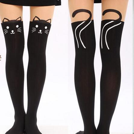 Cat Tail Tights Stockings Pantyhose For Spring and Summer
