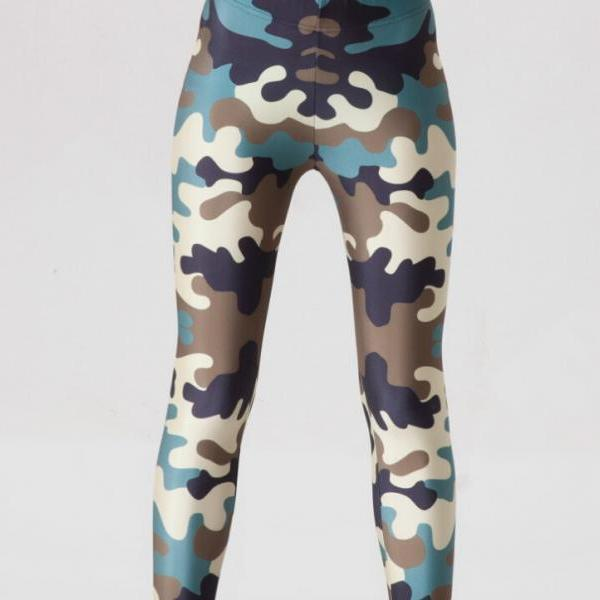 Printed Leggings Pants Sexy Slim Long Pencil Trousers/Fashion Tights SLgs9067